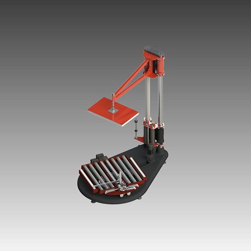Drehteller-Wickler Typ CargoWrap 3000